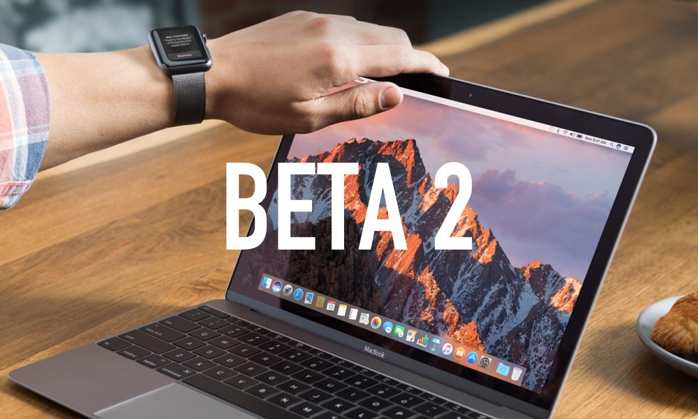 macOS Sierra beta 2