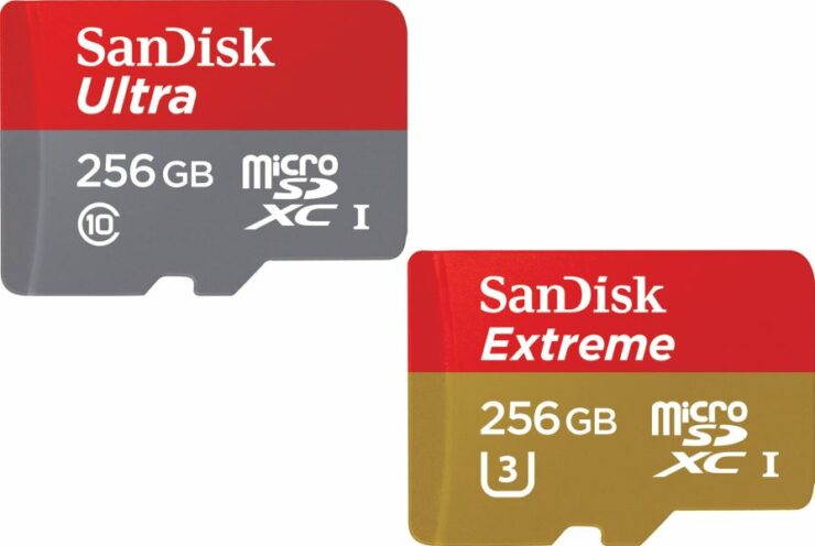 SanDisk 256GB MicroSD Cards Are Quite Fast, But Only In These Conditions