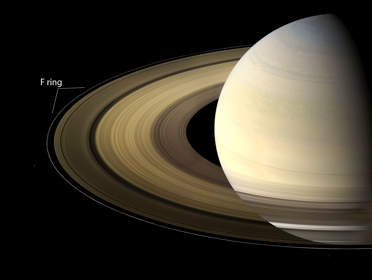 Saturn Rings Made Of Ice