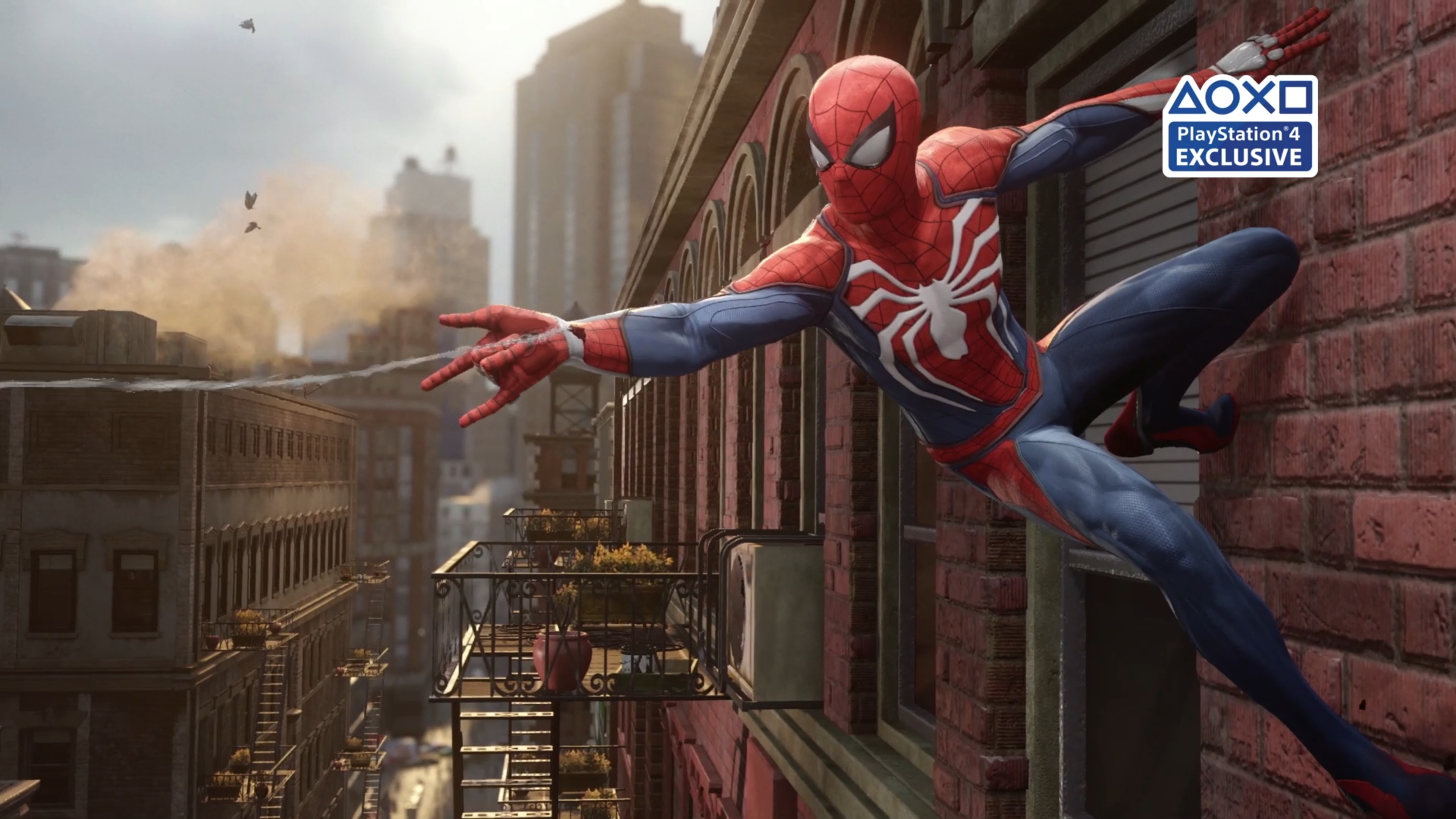 Insomniac compares Spider-Man PS4 vs PS4 Pro Graphics to