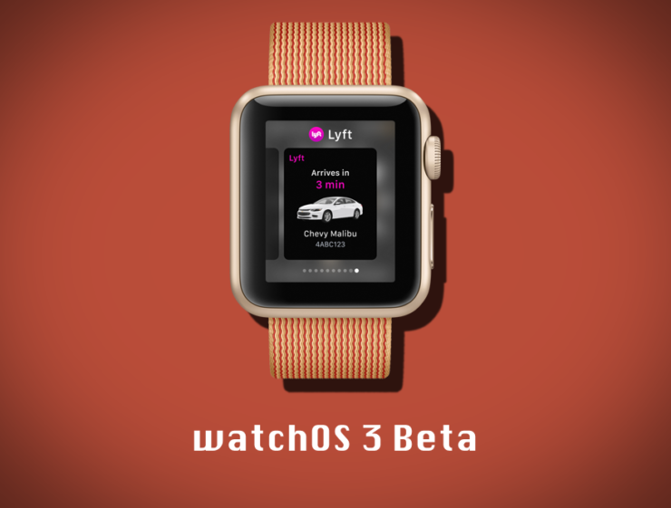 watchOS 3 beta