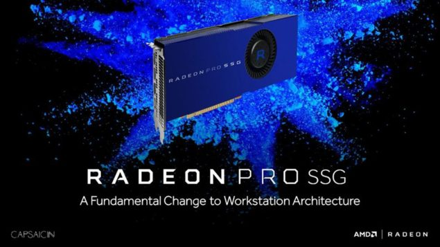 AMD Radeon Pro SSG Solution