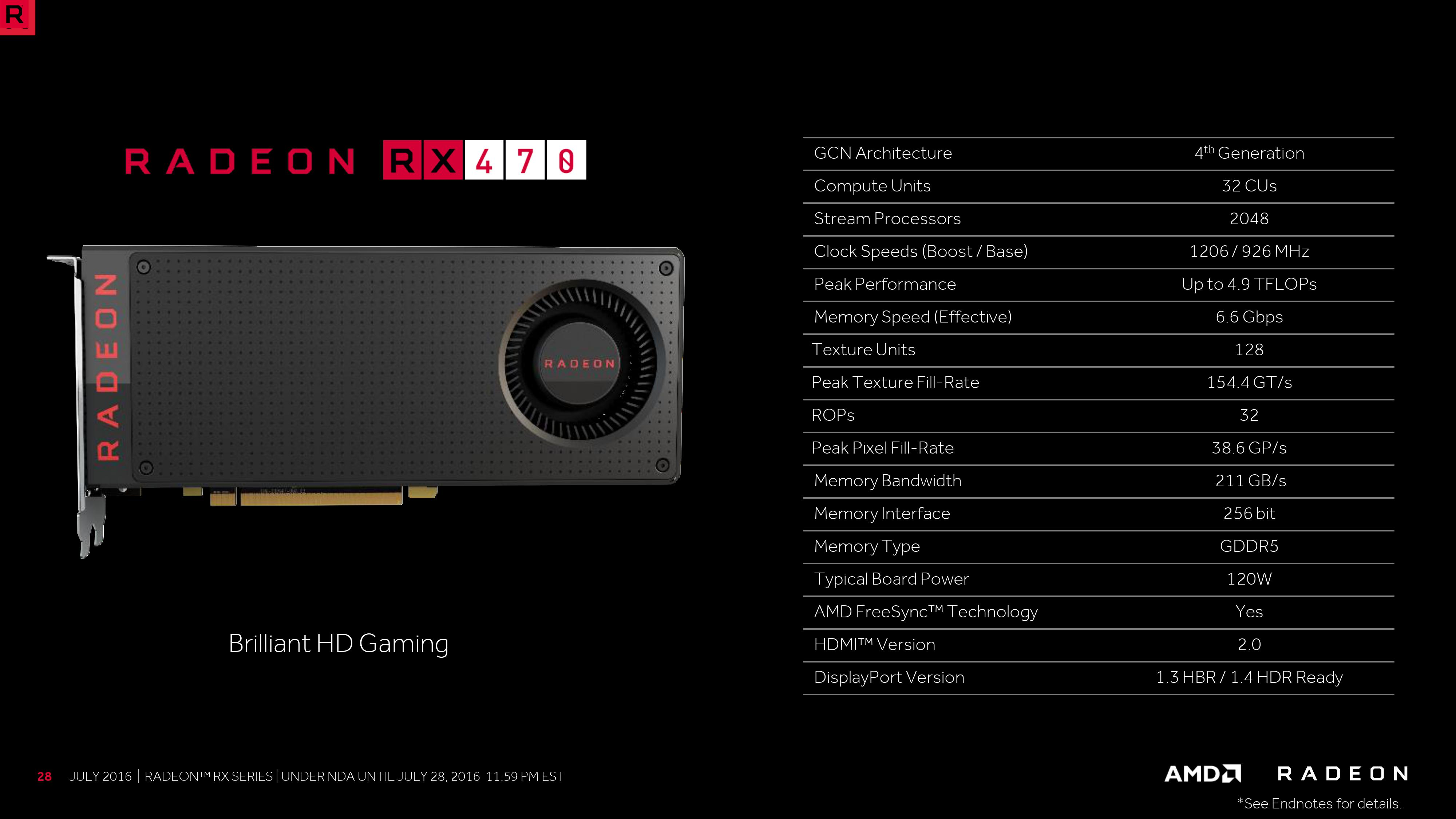 AMD Radeon RX 580 To Feature Polaris 20 and RX 560 To Feature