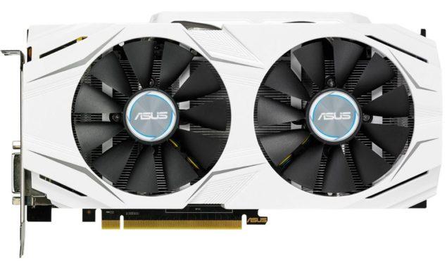 ASUS GeForce GTX 1060 Dual Front