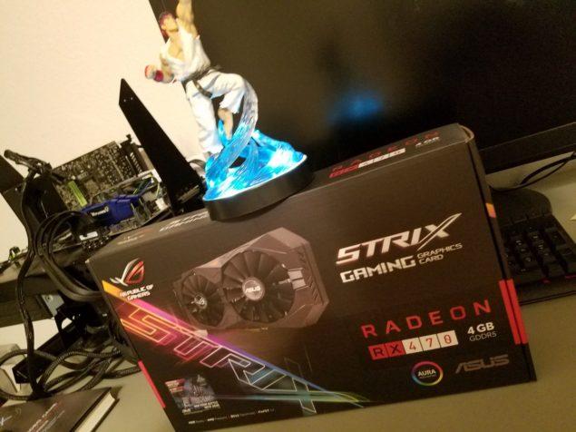 ASUS Radeon RX 470 ROG STRIX