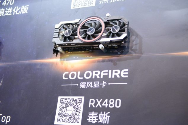 Colorfire Radeon RX 480 Tri-Fan