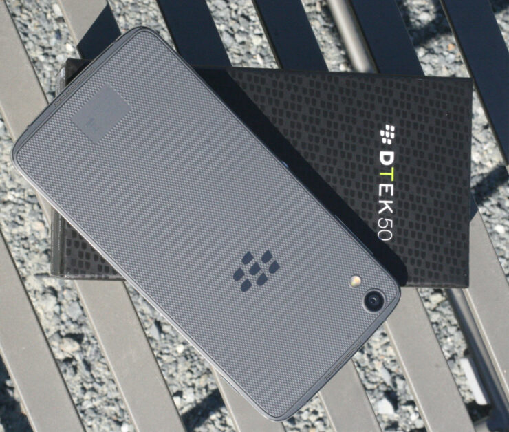 BlackBerry Officially Announces DTEK50 – Claiming It To Be World's Most Secure Phone