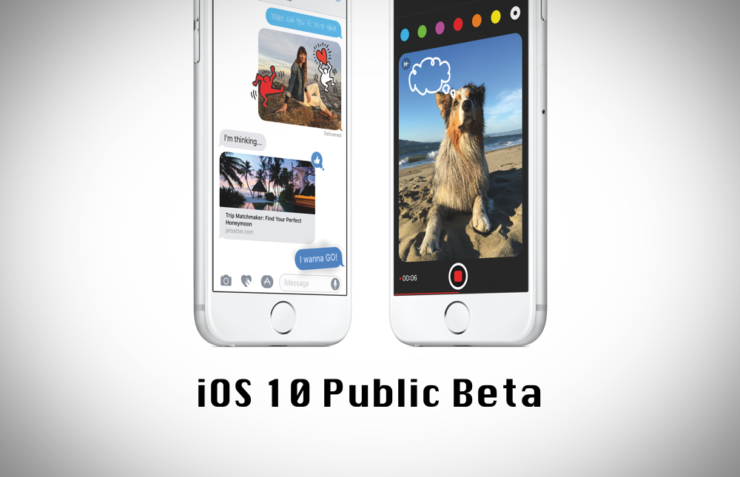 Download iOS 10 Public Beta