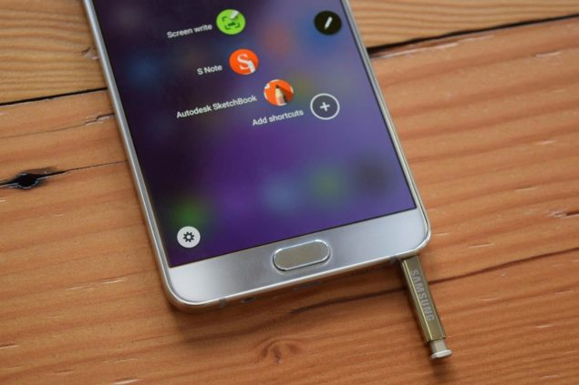 Galaxy Note 7 Official Front Side Image Leaked In All Its Glory With An 'Always On' Display Present