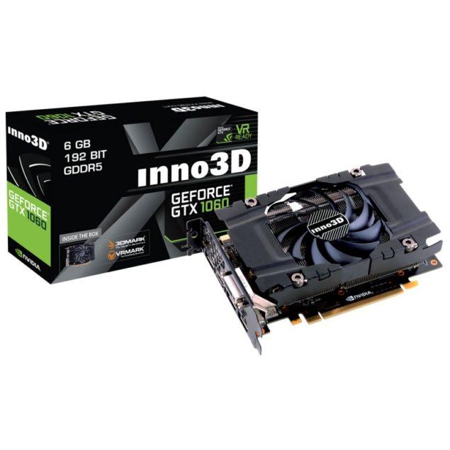 Inno3D GeForce GTX 1060 Compact X1