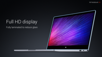 Xiaomi Mi Notebook Air official image gallery