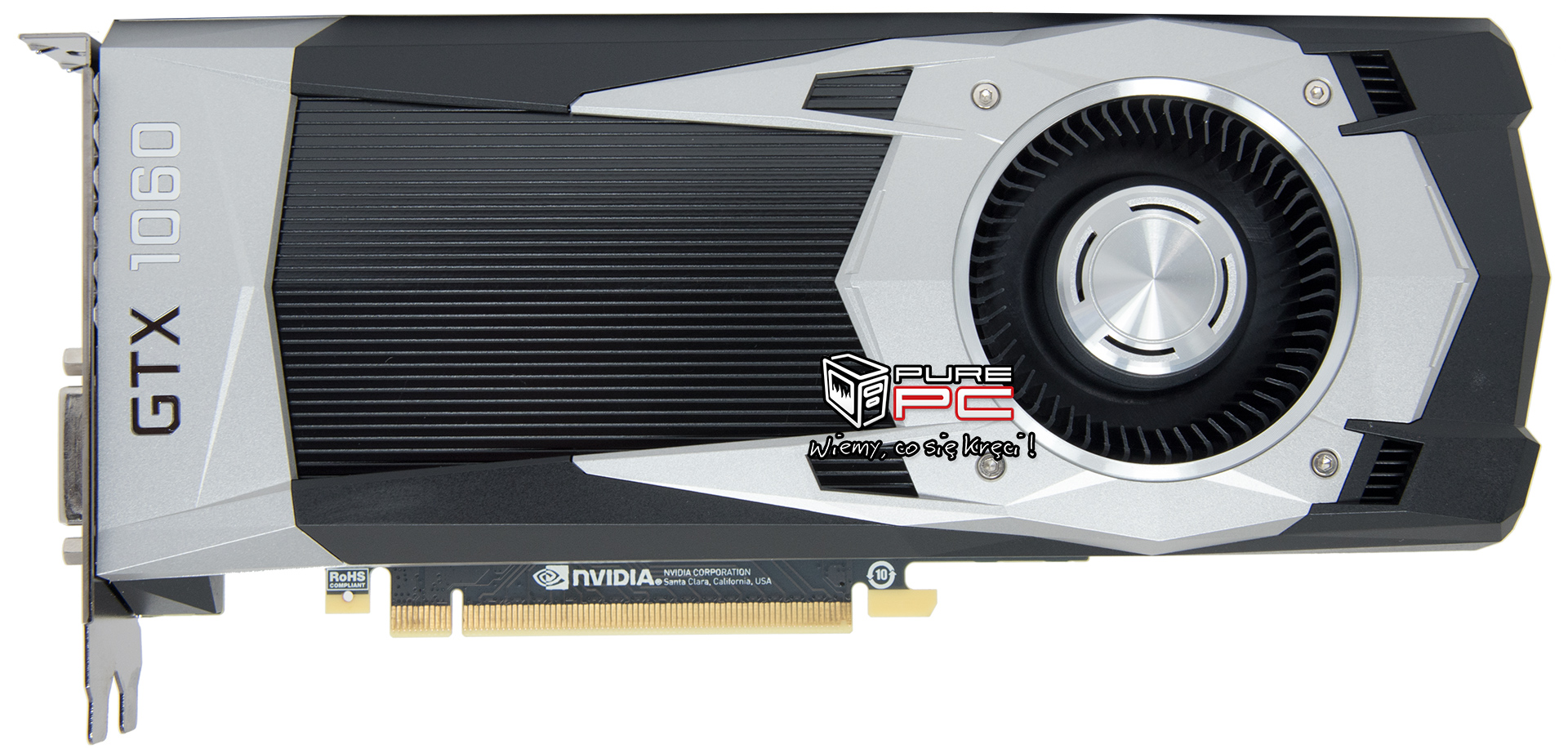 NVIDIA GeForce GTX 1060 Pictured in All its Glory