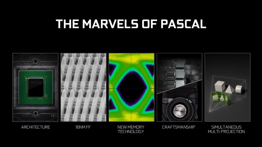 NVIDIA's Pascal GPUs are the most advanced and the most efficient FinFET based chips made to date.