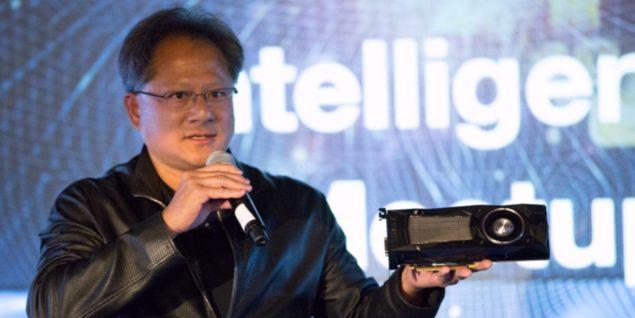 NVIDIA Jen-Hsun GTX Titan X Pascal Launch