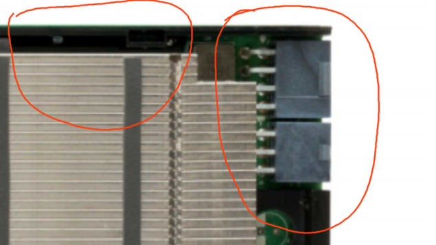 NVIDIA Pascal Tesla P100 Power Connectors