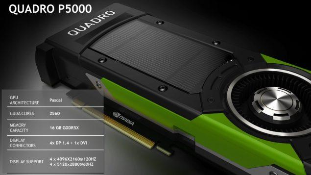 NVIDIA SIGGRAPH 2016_Quadro P5000