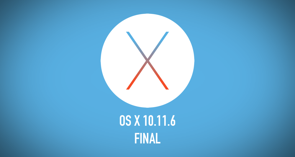 Download Mac OS X 10 11 El Capitan Final