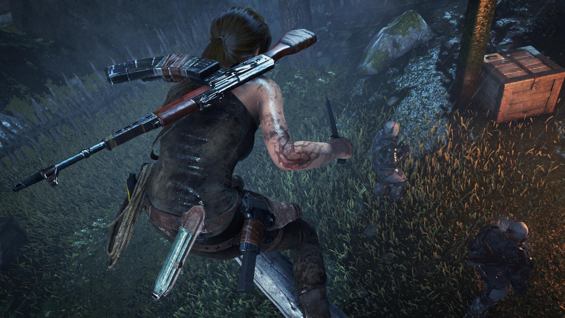 Rise Of The Tomb Raider Ps4 Gets Psvr Support New Story