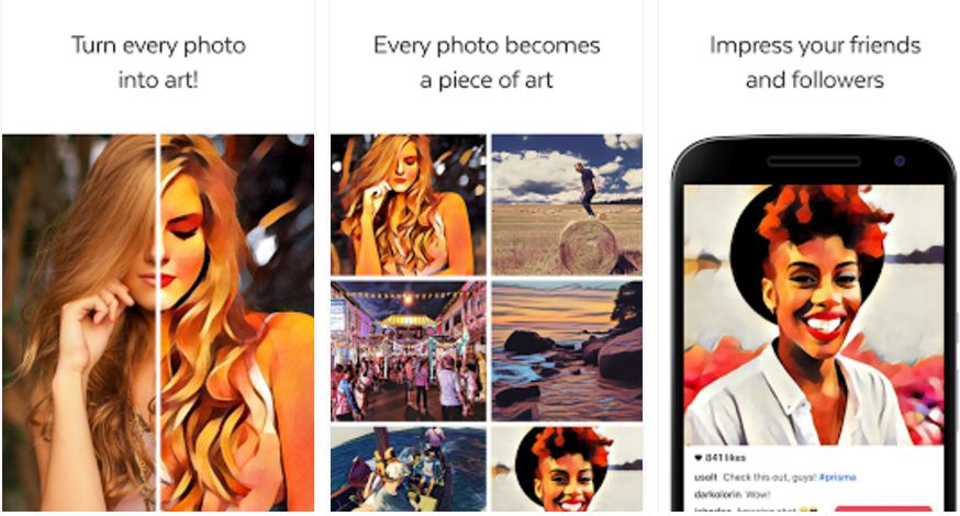 prisma photo filter app is finally available on android