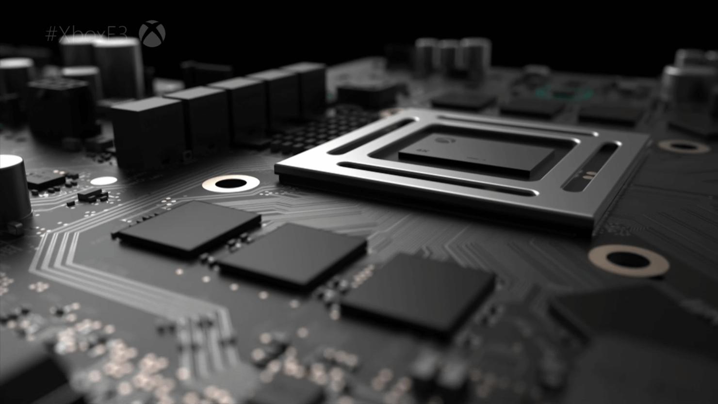 Project Scorpio CPU