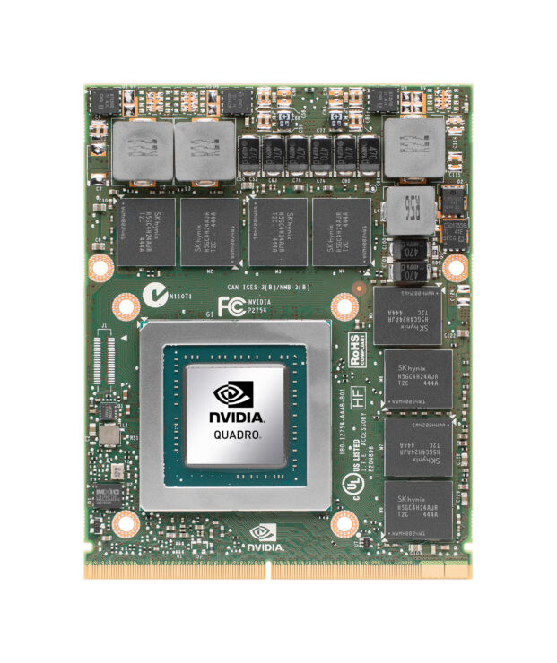 Quadro Pascal GPU spotted in laptop