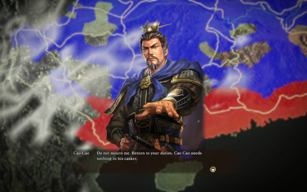 Romance of the Three Kingdoms XIII 01 - Death of Cao Cao