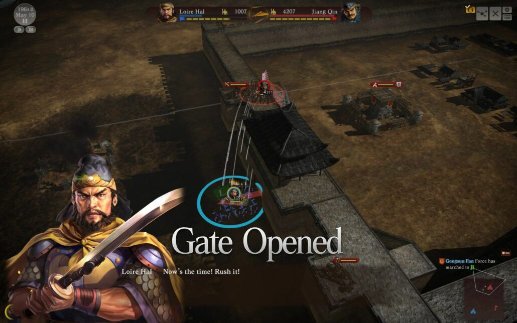 Romance of the Three Kingdoms XIII 04 - Rush the Gate