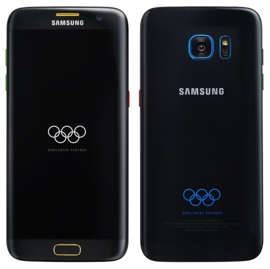 Samsung Has Released Its Galaxy S7 Edge OIympic Games Edition Unboxing Video – Check It Right Here