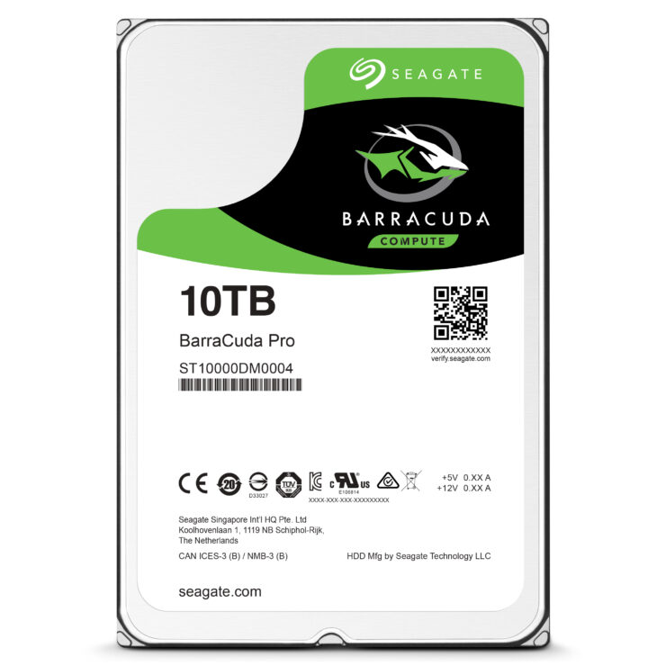 Seagate Has Announced A 10TB Consumer Hard Drive For The Masses