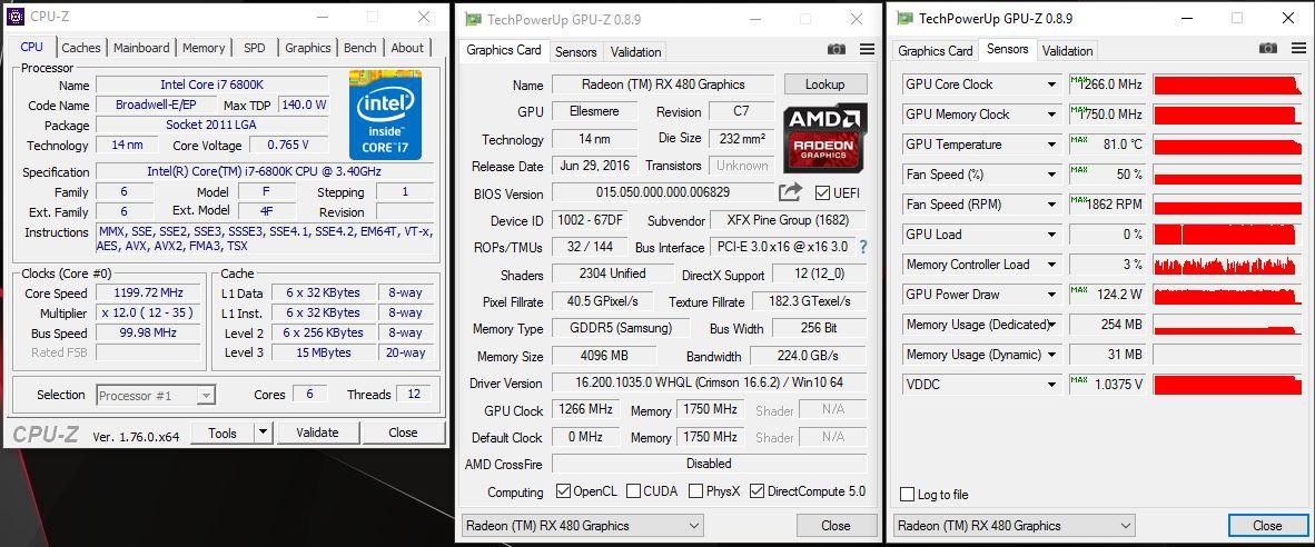 16 Awesome Rx 480 Wattman Settings - Video Graphics Array (VGA)