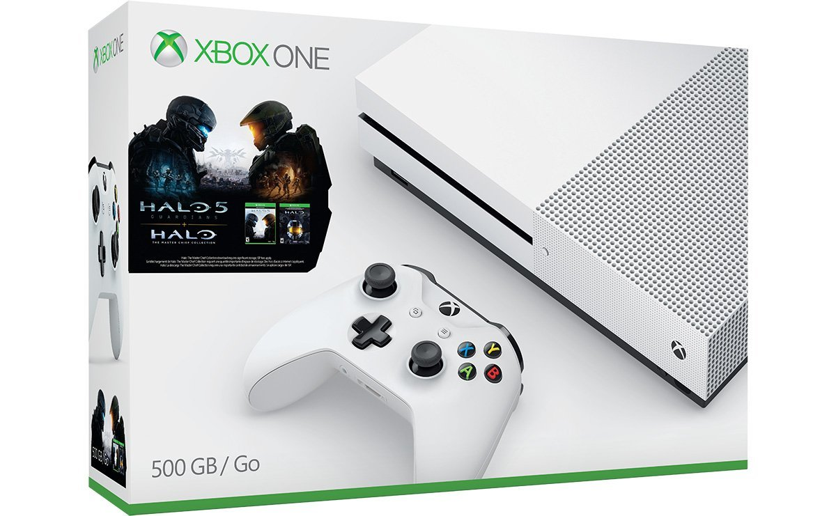 Xbox One S 500GB/1TB Halo Collection And Madden NFL 17 ...