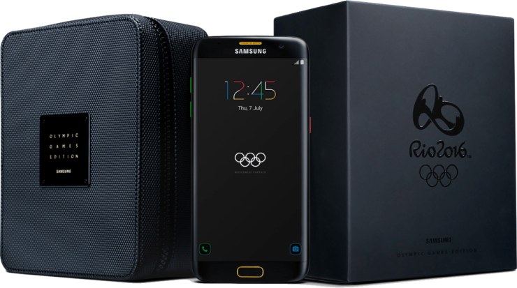 Galaxy S7 Edge Olympic Games Edition Gets A Pre-Order Price And It's Far From Cheap