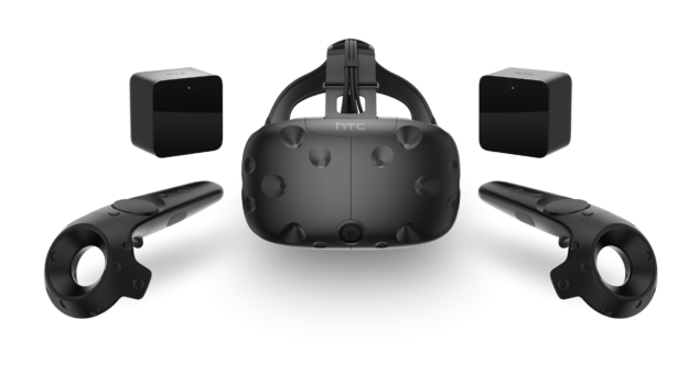 The Vive... Currently leading the VR charts