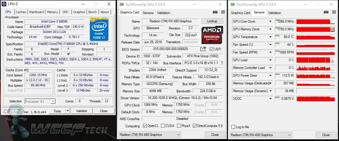 Radeon RX 480 Reducing Voltage and Increasing Efficiency