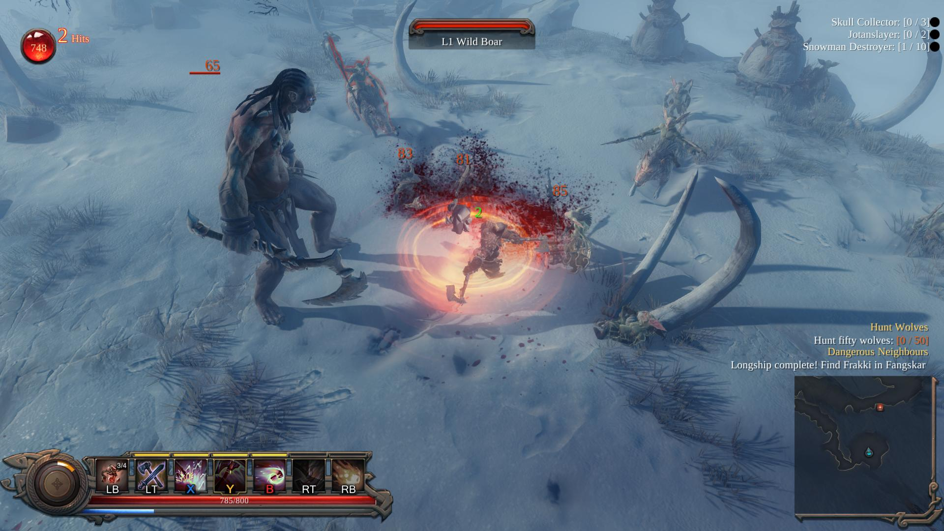 Vikings – Wolves of Midgard, an Action RPG based on Norse mythology, was  announced today by developer Games Farm and publisher Kalypso Media.