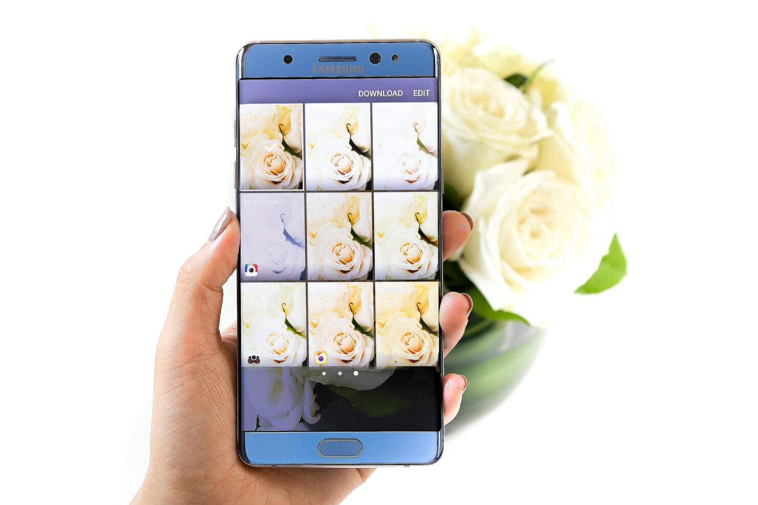 Galaxy Note 7 official image gallery