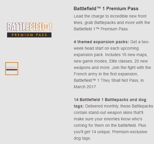BF1 Premium Pass