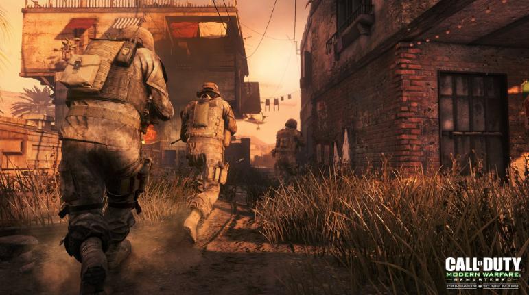 New Call Of Duty Modern Warfare Remastered Screenshots Emerge