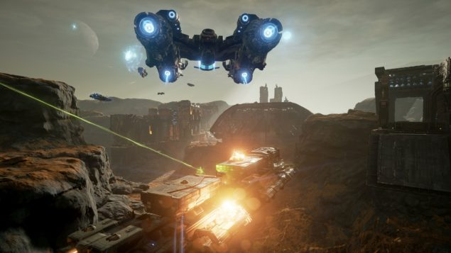 Dreadnought Gamescom 04 - Altitude