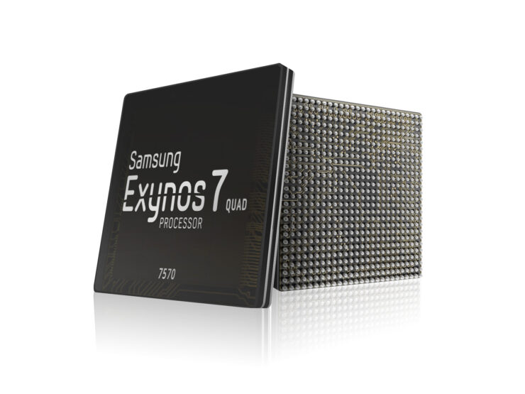Exynos 7570 Samsung first 14nm FinFET entry-level
