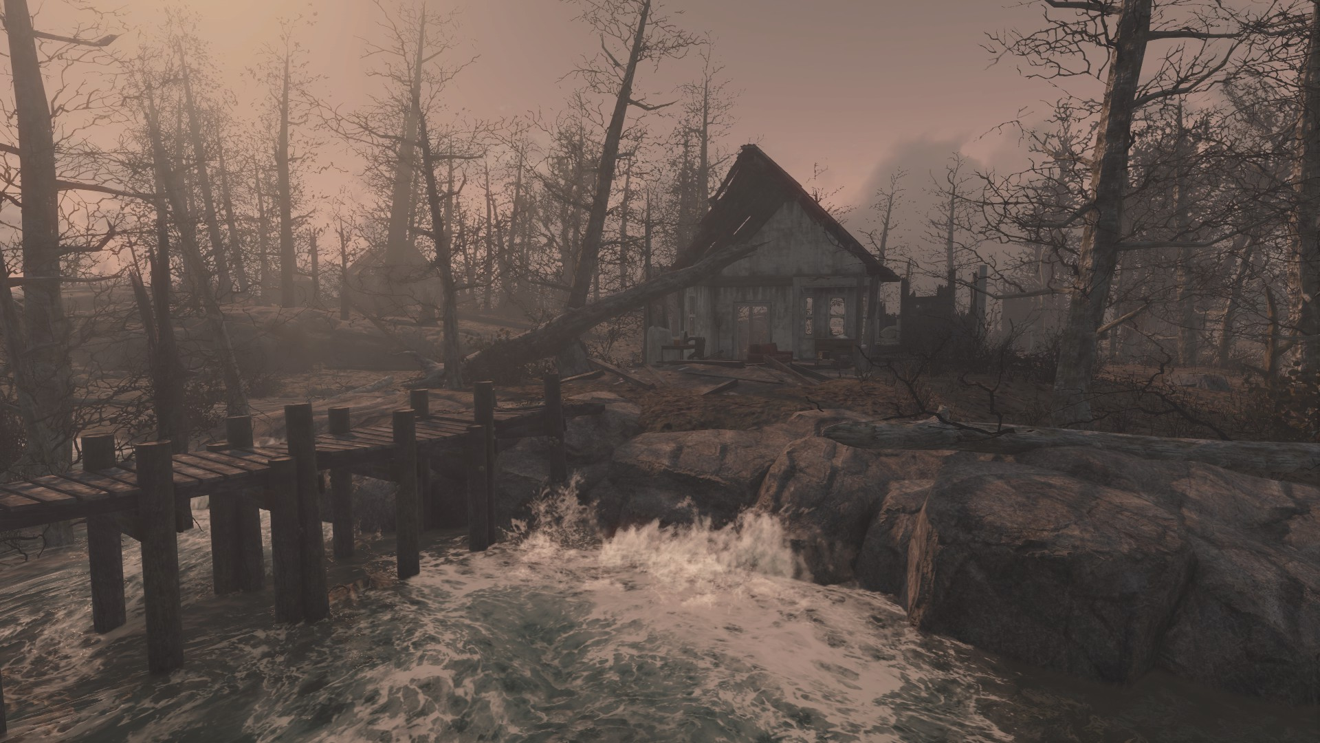Fallout 4 Far Harbor Unreachable Island Off The Coast Detailed In