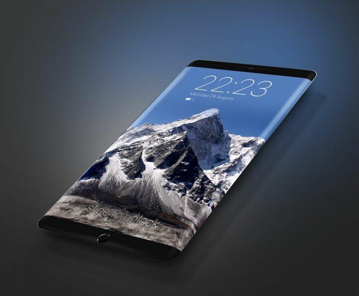 Galaxy S8 no more flat screens