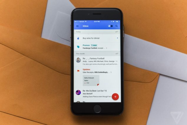 Gmail Inbox integration