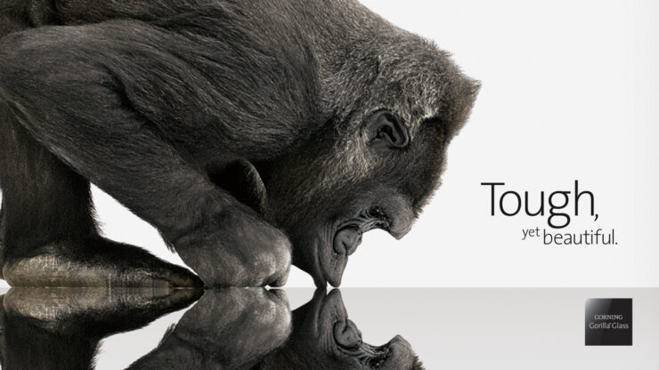 Gorilla Glass SR+ Corning for future wearables