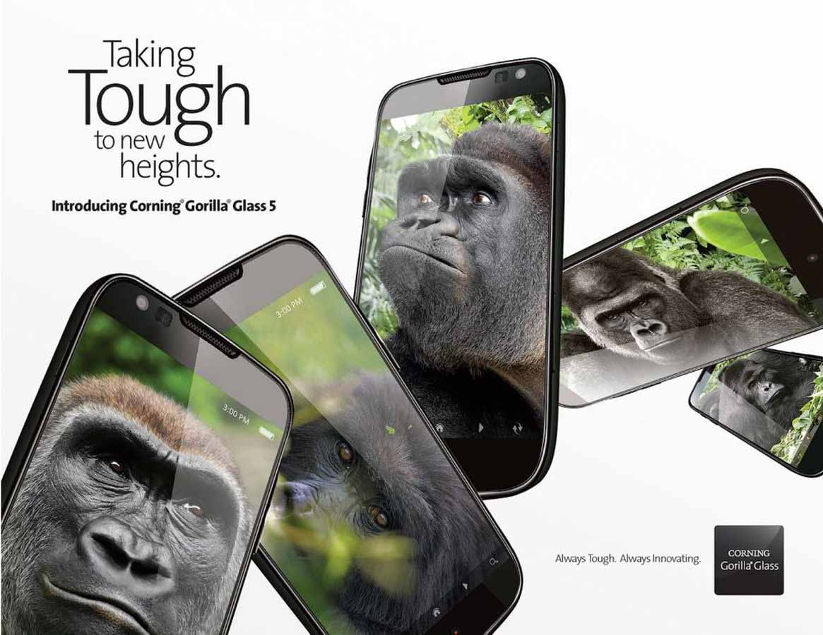 O Gorilla Glass Gorilla Glass 5 Doesn�...