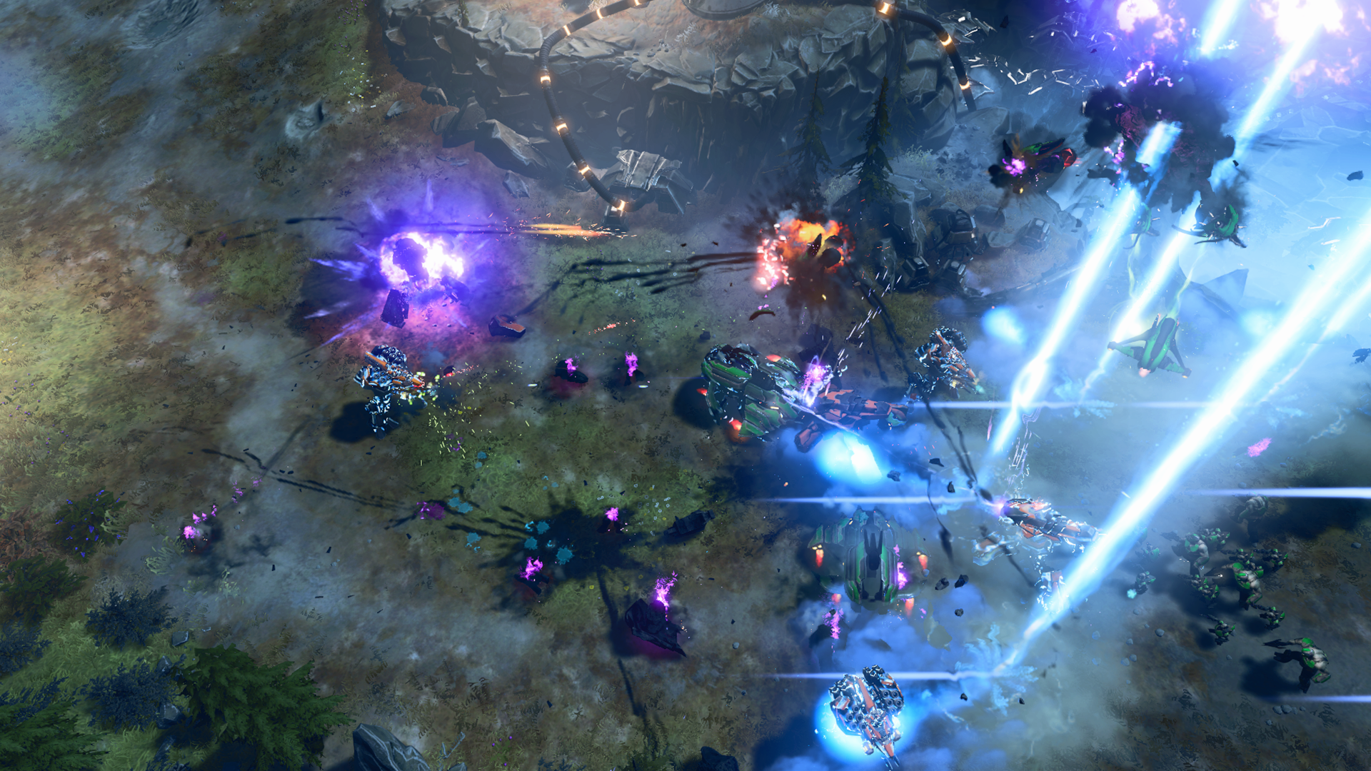 Halo Wars 2 New Gameplay Video Showcases First Campaign Mission