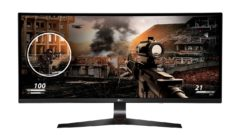 LG world's largest curved ultra-wide monitor