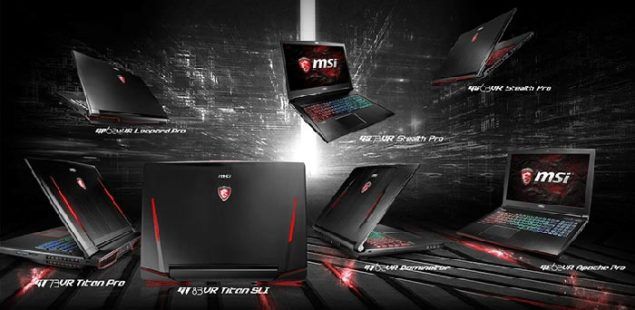 MSI VR gaming laptops (2)