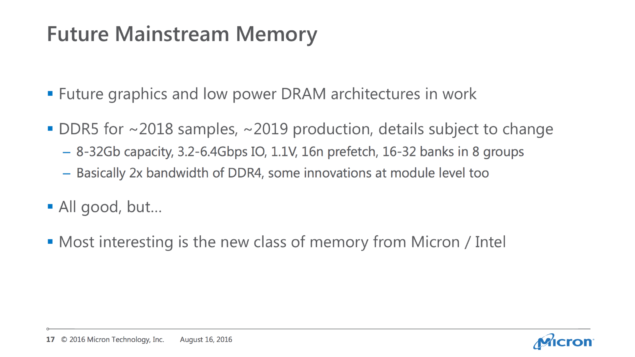 Micron DDR5 DRAM