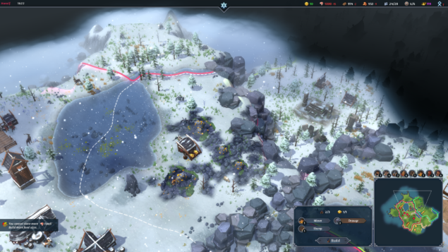 Northgard at Gamescom 01 - Mining in the Snow
